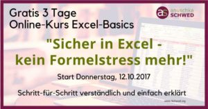 3TOK Online-Kurs Excel-Basics